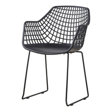 Moe's Home Collection Honolulu Chair Black-Set of Two - QX-1007-02