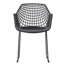 Moe's Home Collection Honolulu Chair Black-Set of Two - QX-1007-02 - Moe's Home Collection - lounge chairs - Minimal And Modern - 1