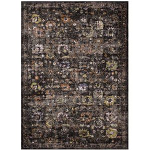 Minimal & Modern Minu Distressed Floral Lattice 8x10 Area Rug - R-1091-810-Minimal & Modern