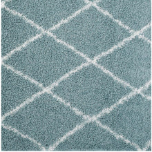 Modway Furniture Modern Toryn Diamond Lattice 5x8 Shag Area Rug - R-1144-58