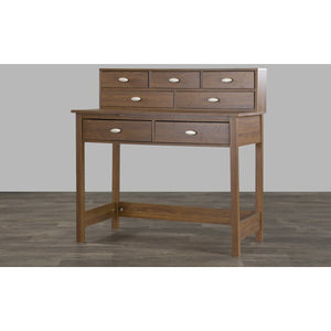 Baxton Studio McKinley Writing Desk Baxton Studio-Desks-Minimal And Modern - 2