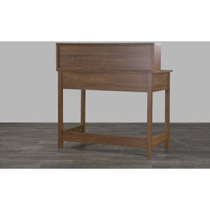 Baxton Studio McKinley Writing Desk Baxton Studio-Desks-Minimal And Modern - 4