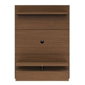 Manhattan Comfort City 1.2 Floating Wall Theater Entertainment Center Nut Brown, TV Stands - Manhattan Comfort, Minimal & Modern - 1