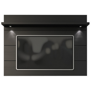 Manhattan Comfort Cabrini 1.8 TV Panel Black, TV Stands - Manhattan Comfort, Minimal & Modern - 1