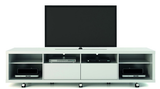 Manhattan Comfort Cabrini 2.2 TV Stand White Gloss, TV Stands - Manhattan Comfort, Minimal & Modern - 3