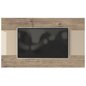 Manhattan Comfort Carnegie TV Panel in Nature and Nude/ Pro Touch-Minimal & Modern