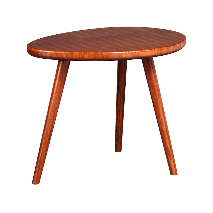 Greenington Modern Bamboo Roche Grain End Table-Minimal & Modern