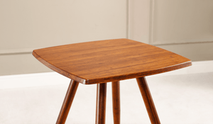 Greenington Modern Bamboo Ceres Square End Table Side Tables - bamboomod