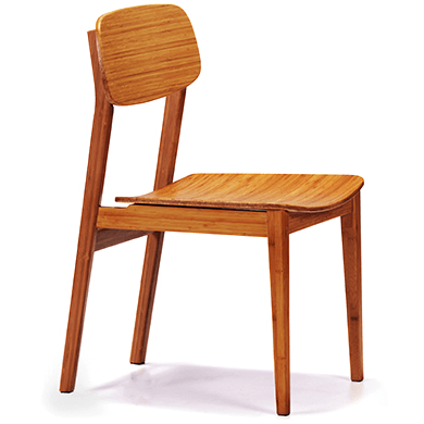 Greenington Currant Modern Bamboo Dining Chair (Set of 2)-Minimal & Modern