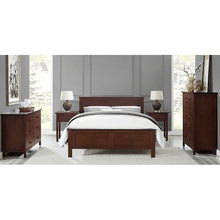 5pc Greenington Hosta Modern Queen Bedroom Set (Includes: 1 Queen Bed, 2 Nightstands, 2 Dressers) Beds - bamboomod