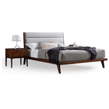 3pc Greenington Mercury Modern Bamboo Queen Bedroom Set In Exotic (Includes: 1 Queen Bed & 2 Nightstands)-Minimal & Modern