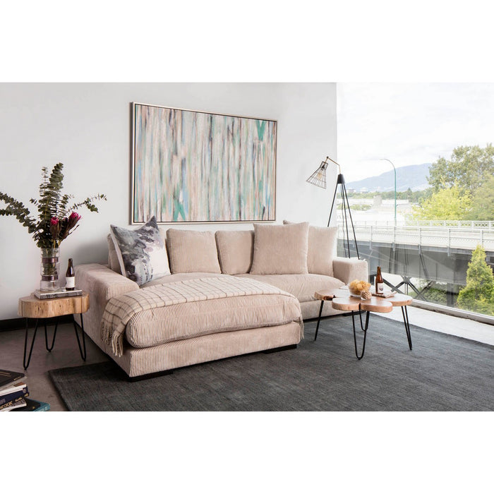 MOE'S HOME COLLECTION PLUNGE SECTIONAL CAPPUCCINO - TN-1004-14-Minimal & Modern