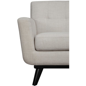TOV Furniture Modern James Beige Linen Chair-Minimal & Modern