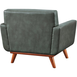 TOV Furniture Modern Lyon Smoke Grey Chair TOV-A56-Minimal & Modern
