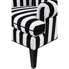 TOV Furniture Modern Paris Velvet Wingback Chair TOV-A61-Minimal & Modern