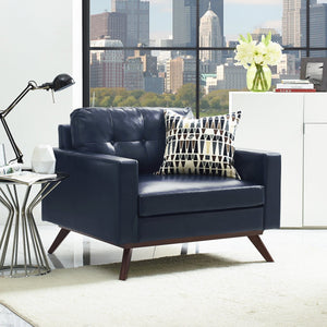 TOV Furniture Modern Blake Antique Blue Chair TOV-A73-Minimal & Modern