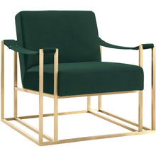 TOV Furniture Modern Baxter Forest Green Velvet Chair TOV-AS82-Minimal & Modern