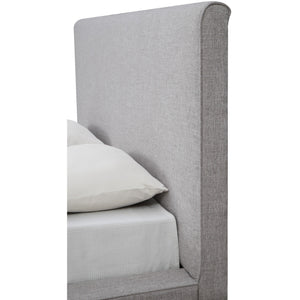 TOV Furniture Modern Nixon Beige Linen Bed in Queen TOV-B14-Beige-Q-Minimal & Modern