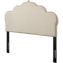 TOV Furniture Modern Noches King Headboard in Beige Linen - TOV-B43-K-Minimal & Modern