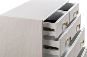 TOV Furniture Modern Divine White Chest - TOV-B44016