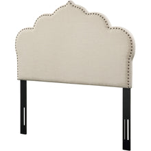 TOV Furniture Modern Noches Full Headboard in Beige Linen - TOV-B65-F-Minimal & Modern