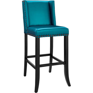 TOV Furniture Modern Denver Blue Bar Stool TOV-BS13-Minimal & Modern