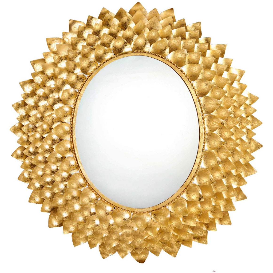 TOV Furniture Modern Destiny Gold Mirror - TOV Furniture, Minimal & Modern - 1