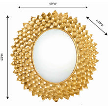 TOV Furniture Modern Destiny Gold Mirror - TOV Furniture, Minimal & Modern -  4