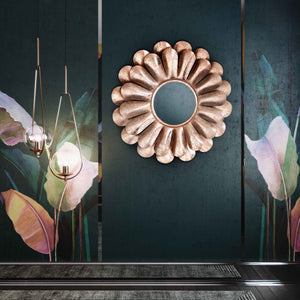 TOV Furniture Modern Blossom Rose Gold Mirror - TOV-C18143
