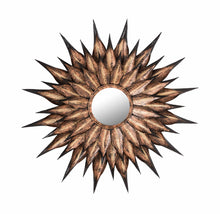 TOV Furniture Modern Sunflower Antique Wall Mirror - TOV Furniture, Minimal & Modern - 1