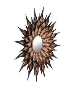 TOV Furniture Modern Sunflower Antique Wall Mirror - TOV-C18241