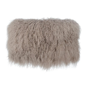 TOV Furniture Modern Tibetan Sheep Sandy Brown Large Pillow - TOV-C5701-Minimal & Modern