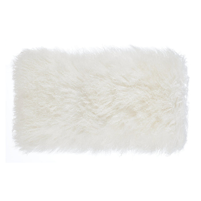 TOV Furniture Modern Tibetan Sheep Long Pillow - TOV-C5708-Minimal & Modern