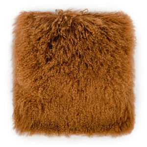 TOV Furniture Modern Tibetan Sheep Copper Pillow - TOV-C5717-Minimal & Modern