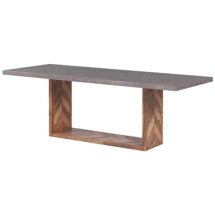 TOV Furniture Modern Wyckoff Mixed Dining Table - TOV-D7055-Minimal & Modern