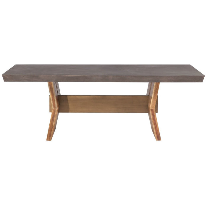 TOV Furniture Modern Astoria Dark Concrete Table - TOV-D7063-Minimal & Modern