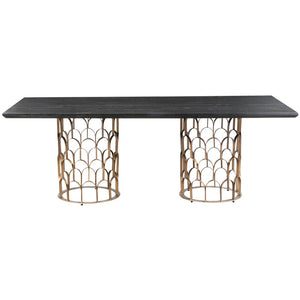 TOV Furniture Modern Gatsby Wood Dining Table - TOV Furniture, Minimal & Modern -  9