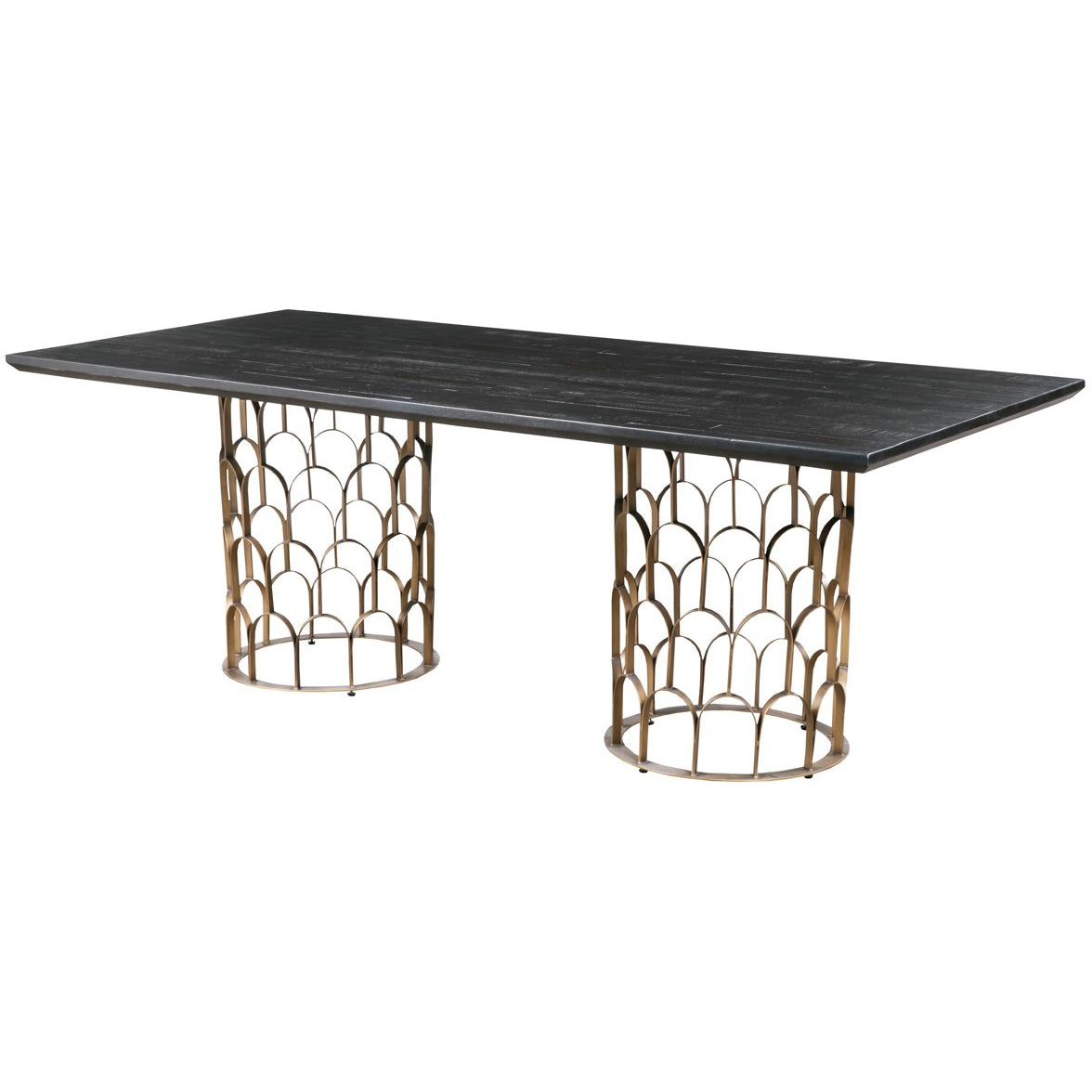 TOV Furniture Modern Gatsby Wood Dining Table - TOV Furniture, Minimal & Modern - 1