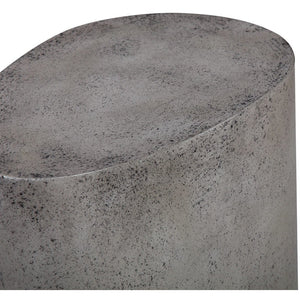 TOV Furniture Modern Everly Concrete Oval Stool - TOV-G5453-Minimal & Modern