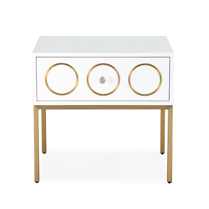 TOV Furniture Modern Ella Side Table - TOV-G5493-Minimal & Modern