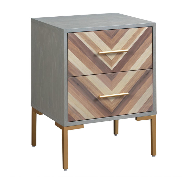 TOV Furniture Modern Quinn Side Table - TOV-G5499-Minimal & Modern