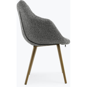 TOV Furniture Modern Finn Grey Tweed Chair (Set of 2) TOV-GS5504-Minimal & Modern