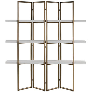 TOV Furniture Modern Kupa Concrete Bookcase TOV-H44032