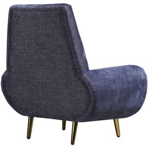 TOV Furniture Modern Piper Navy Chair - TOV-L4904-Minimal & Modern