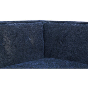 TOV Furniture Modern Jess Navy Textured Linen RAF Sectional - TOV-L4912-Minimal & Modern