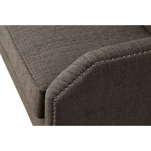 TOV Furniture Modern Hartford Grey Linen Living Room Set - TOV-L6100-L6117-Minimal & Modern