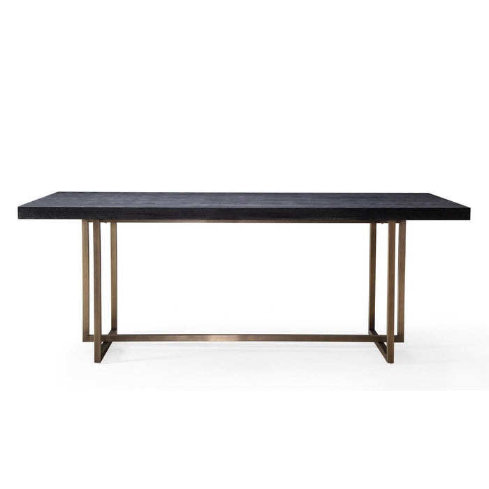 TOV Furniture Modern Mason Black Dining Table - TOV-L6138-Minimal & Modern