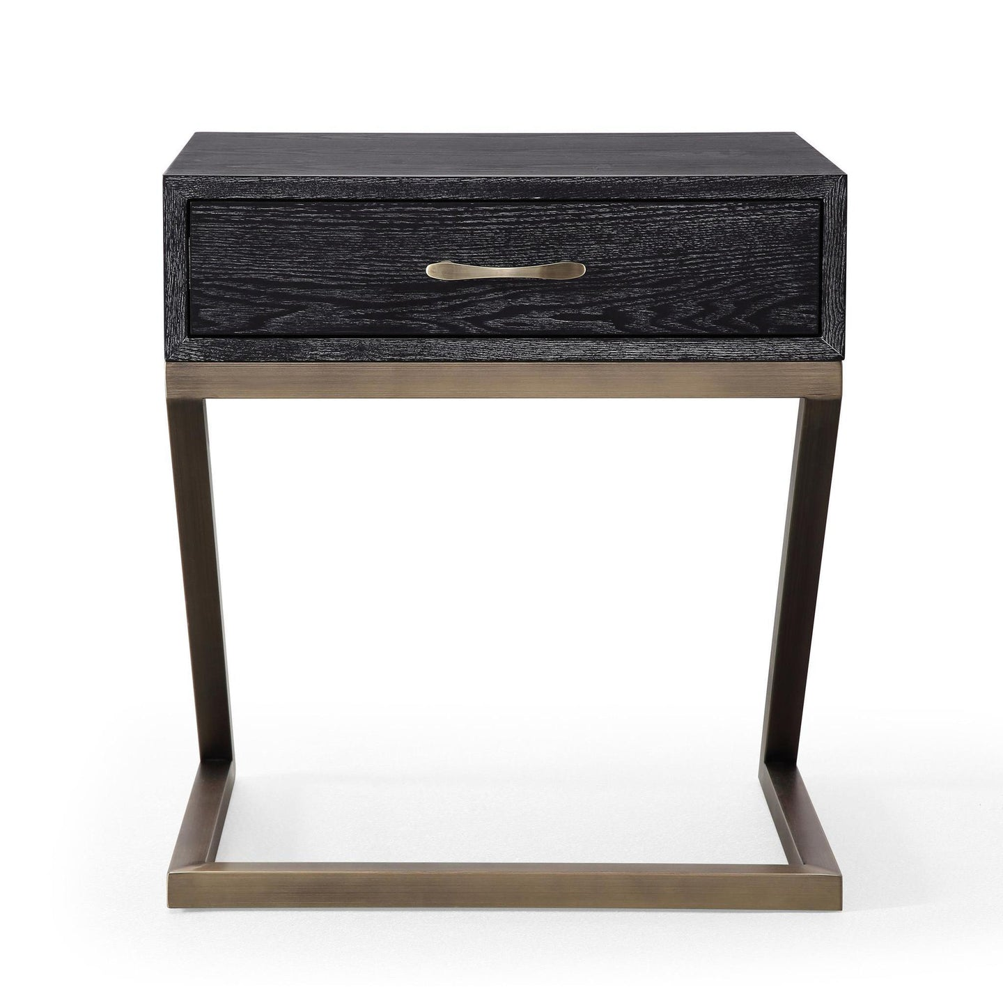 TOV Furniture Modern Mason Black Side Table - TOV-L6140-Minimal & Modern