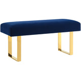 TOV Furniture Modern Alexis Velvet Bench , Benches - TOV Furniture, Minimal & Modern - 2