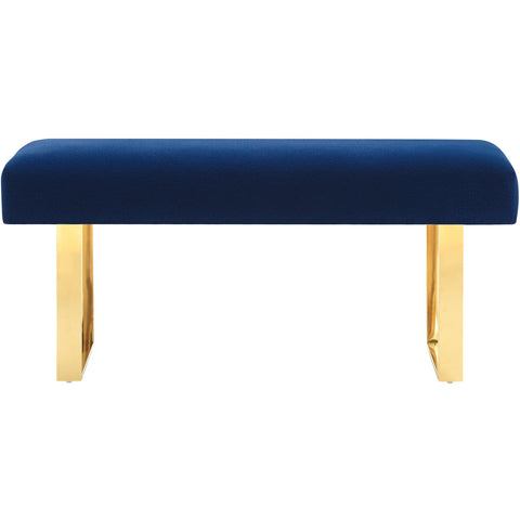 tov furniture modern alexis velvet bench benches tov furniture minimal u0026 modern - Tov Furniture